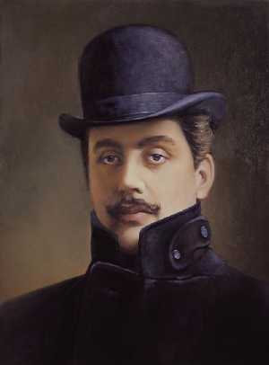 ' ' from the web at 'http://www.ofletters.com/composers/puccini.jpg'